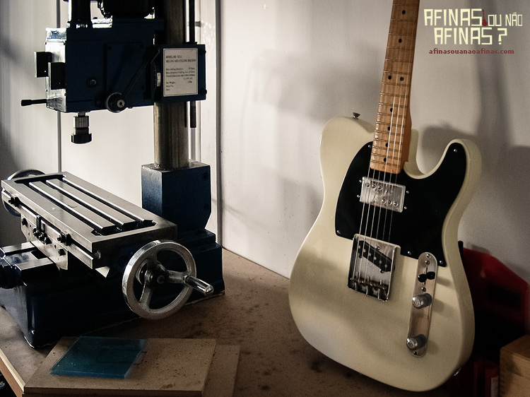 afinas ou não afinas telecaster fresadora milling machine widerange pickup routing final